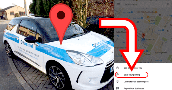 You Can Now Find Your Car With Google Maps